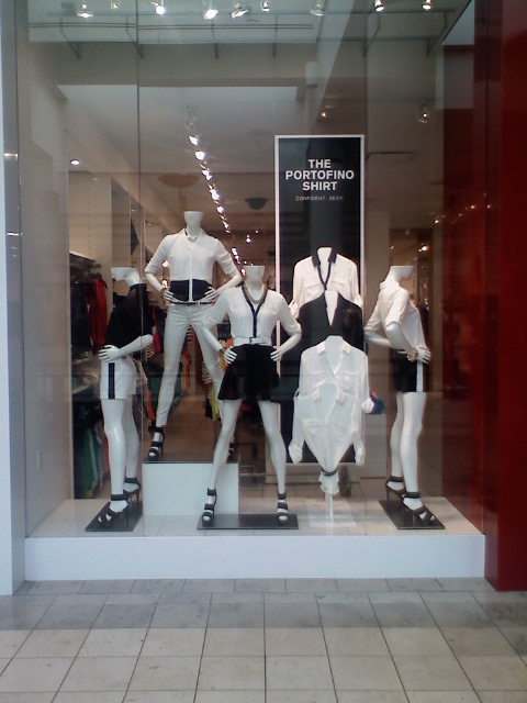 Fashion Promotion - Visual Displays